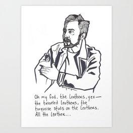 Charlie Day Art Print