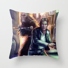 Scoundrels (Color) Throw Pillow
