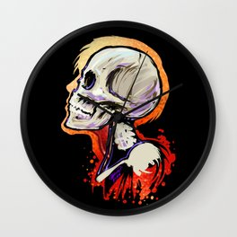 Bonehead 2 Wall Clock