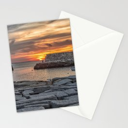 Sunset at Lanes cove 5-5-18 Stationery Cards