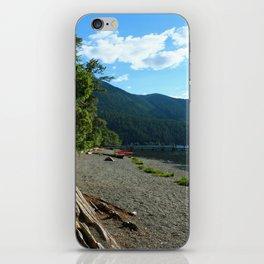 Lake Cresent Shore iPhone Skin