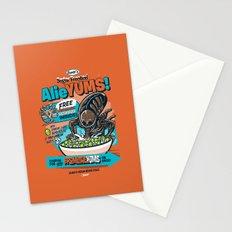 AlieYUMS! (orange variant) Stationery Cards