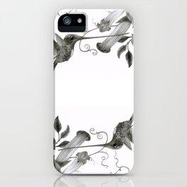 Swordbill Hummingbird iPhone Case