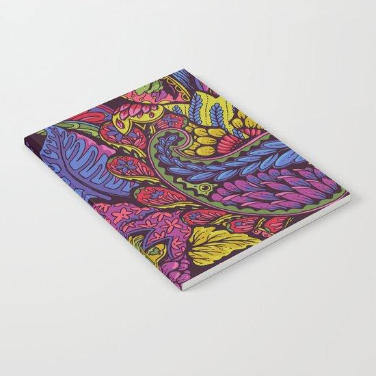 Paisley Dreams - autumn colors Notebook