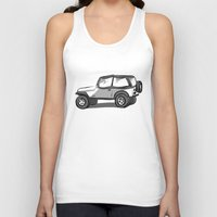 jeep Tank Tops featuring Jeep by Mister Abigail