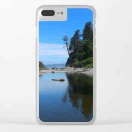 A Magnificent Beach Scene Clear iPhone Case