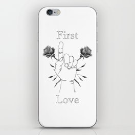 Remember Your First Love iPhone Skin