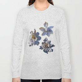 3 White Gardenias [Cecilia Lee] Long Sleeve T-shirt