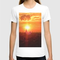 russia T-shirts featuring sunset in Russia by gzm_guvenc
