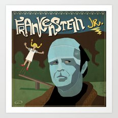 Young Frankenstein Art Print
