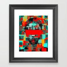Digital G Framed Art Print