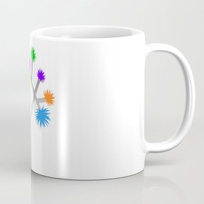 Joshua Tree Pom Poms by CREYES Coffee Mug