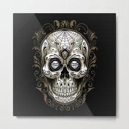 Sugar Skull - Metal Print