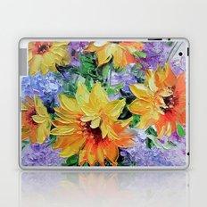 Bouquet of sunflowers Laptop & iPad Skin