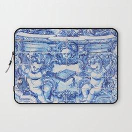 Ángeles Azules Laptop Sleeve