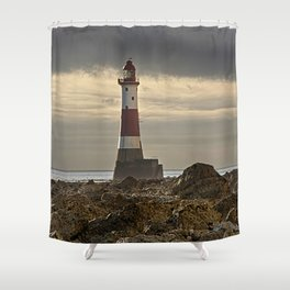 Beachy Head Lighthouse Shower Curtain