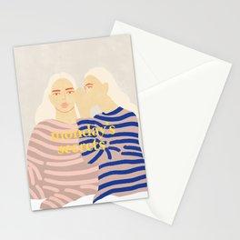 Monday's Secrets Stationery Cards