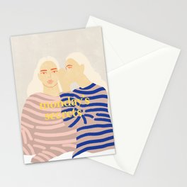 Monday's Secrets Stationery Cards