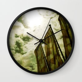 Feed me Clouds 2 Wall Clock