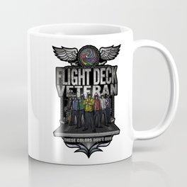 "Flight Deck Veteran ""These Colors Don't Run"" Coffee Mug"