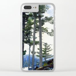 Old Settlers Clear iPhone Case