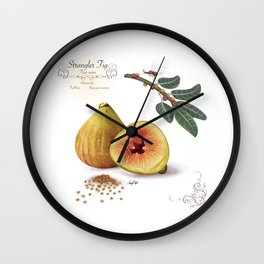 Strangler Fig and Pollinator Wall Clock