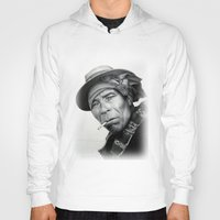 mexico Hoodies featuring MEXICO 1 by MiroArt