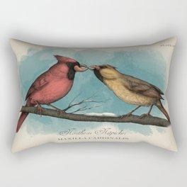 Northern Nitpicker - Maxilla Cardinalis Rectangular Pillow
