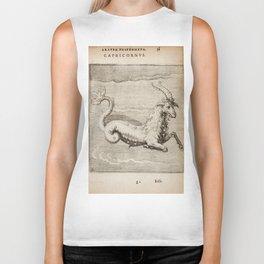 Hugo de Groot's Syntagma Arateorum 1600 - 23 Capricornus Biker Tank