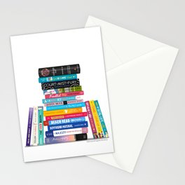 Romance Books II Stationery Cards