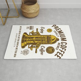 Classic Coffee Maker - Locally Brewed Rug