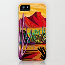 Love Mountain iPhone Case