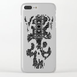 Catedral De La Luna: Skull Chamber Clear iPhone Case