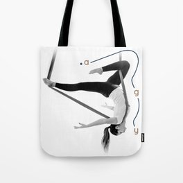 AntiGravity Robin Hood pose Tote Bag