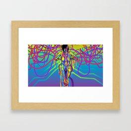 INTERNET GODDESS Framed Art Print
