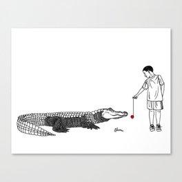 Danger Kids: Gator Games Canvas Print