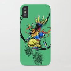 Colors of Anger iPhone X Slim Case