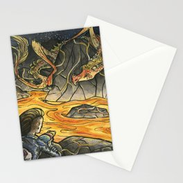 Alice & The Jabberwocky Stationery Cards
