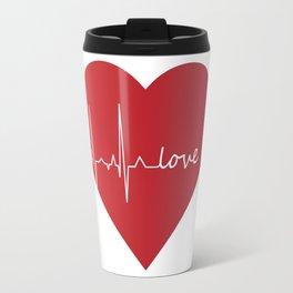 Lovebeat Travel Mug