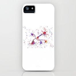 Neurotransmitter release mechanisms iPhone Case