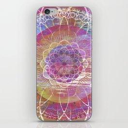Glitch Mandala iPhone Skin