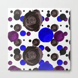Colorful blowfishes Metal Print