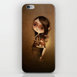 Gold Cage iPhone Skin