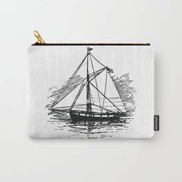 Vintage Boat Carry-All Pouch