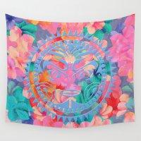hawaii Wall Tapestries featuring Hawaii by Marta Olga Klara