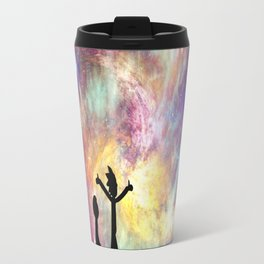 The universe is a pretty big place. If it's just us, seems like an awful waste of space Travel Mug