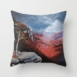 Catskill Autumn Throw Pillow