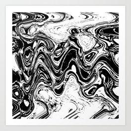 wave crook Art Print