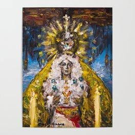 The Virgin of Hope of Macarena Poster