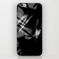 noir iPhone & iPod Skins featuring Noir by Raluca Ag